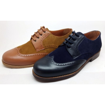 Men shoes blucher
