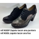 Zapatos blucher oxford señora tacon