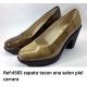 Zapatos blucher oxford señora tacon
