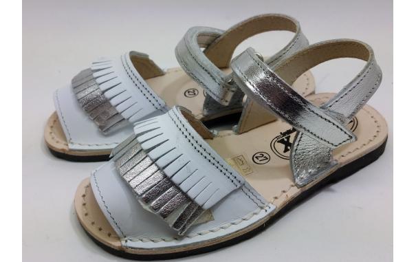 Spanish sandal fringes for child