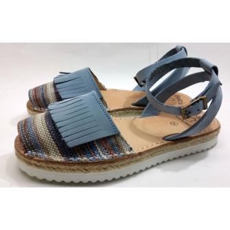 Spanish sandal fringes for lady