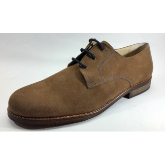 Zapato Blucher Caballero Piel Seraje