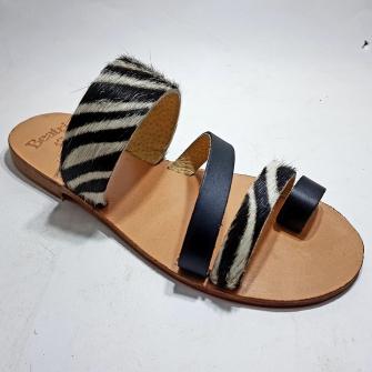 Sandale Femme Peau