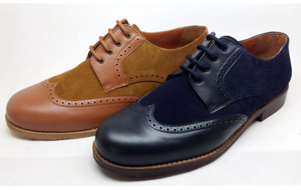 Zapato Blucher caballero piel