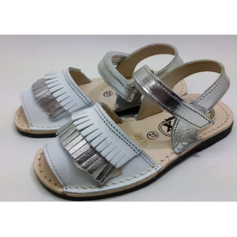 Spanish sandal fringes for child