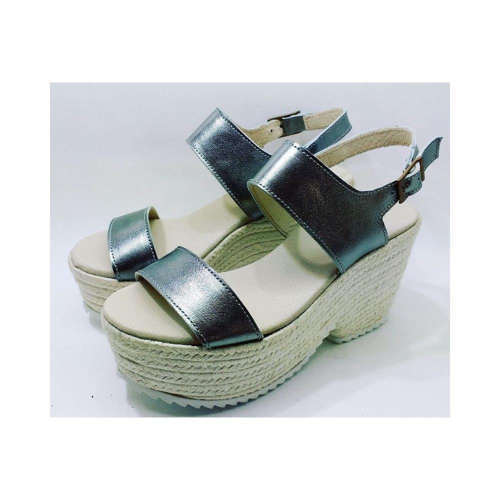 Plate Jute Sandale Forme De Y6gf7by