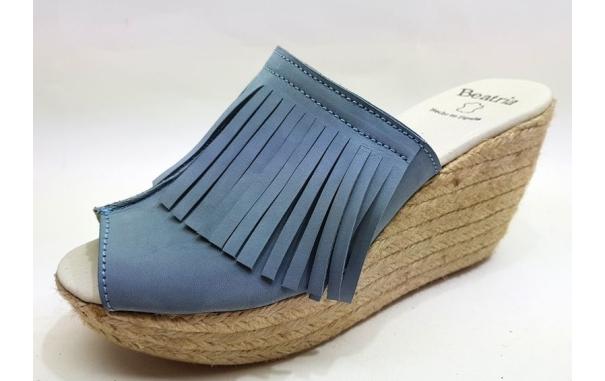 Sandalia Plataforma Yute