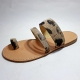 Sandals leather straps